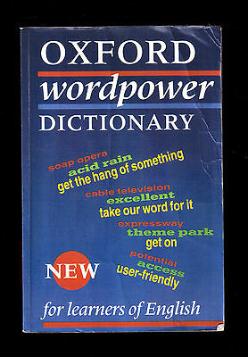 oxford wordpower dictionary  OXFORD WORDPOWER DICTIONARY - For Learners of English - Vocabolario ...