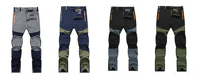 Multi Outdoor Quick-drying Thin Section Windproof Stretch Men Hiking Punch Pants