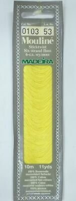 MADEIRA Mouline Stranded Cotton Embroidery Floss 10m Colour 0103