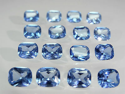 Aquamarine 9.5x8mm Cushion Princess Cut Shape Stones Loose Spinel Gemstones