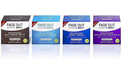 Fade Out Extra Care Brightening Cream 50Ml Day, Night, Anti-Wrinkle,