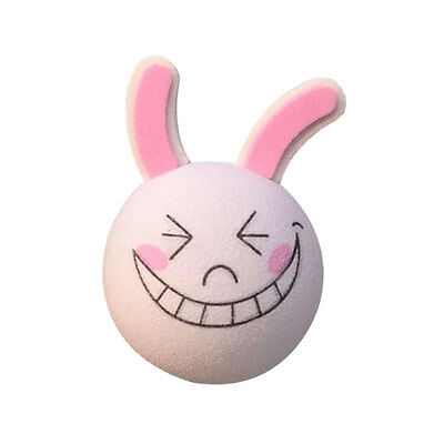 Pink Smiling Rabbit Auto Car Vehicle Truck Aerial Ball Antenna Topper Decor