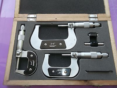 Amtos Micrometer Outside Set 0-3""