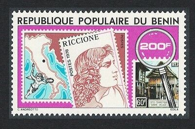 Benin Philatelic Exhibition Riccione Italy 1v SG#712