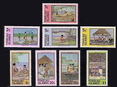 Tokelau Local Life 8v SG#49/56