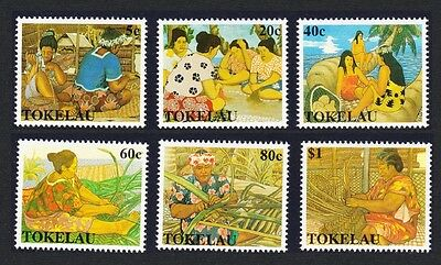 Tokelau Women's Handicrafts 6v SG#177/82 SC#165-170