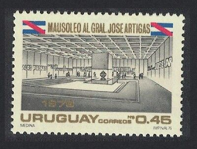 Uruguay Mausoleum of General Jose Artigas 1v SG#1663