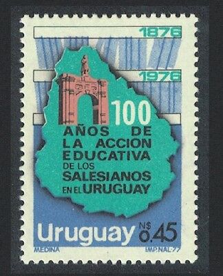 Uruguay Centenary of Salesian Education in Uruguay 1v SG#1664