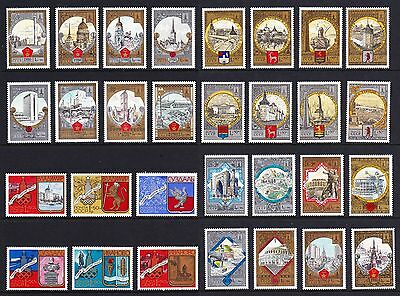 USSR Moscow Olympic Games GOLDEN RING Collection 30v COMPLETE