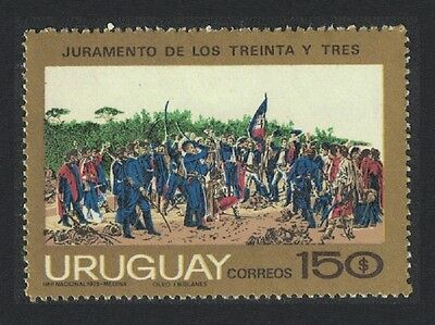 Uruguay 150th Anniversary of 1825 Liberation Movement 1v SG#1601
