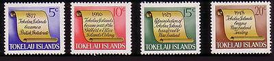 Tokelau History of Tokelau Islands 4v SG#16/19 SC#16-19