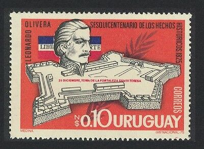 Uruguay 150th Anniversary of Capture of Santa Teresa Fortress 1v SG#1609
