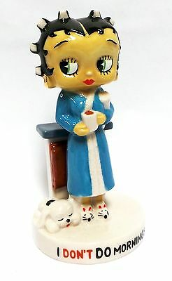 Wade Betty Boop I Don't Do Mornings (Red, Blue and Pink Gowns) Special Offer