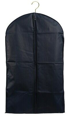 """Garment Bag Black Breathable 40"""" for Suits Jackets Shirts"""