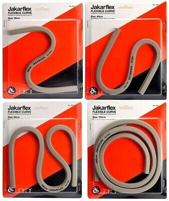 Jakarflex Flexible Curves Flexi Curve Drawing Aid Drafting Design Graph Bodywork