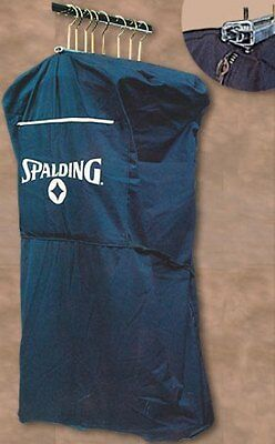 "Salesman Griptite Sample Garment Bag Navy Canvas 42"" New"
