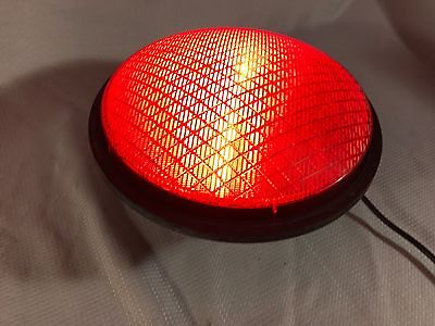 EOI Excellence Opto Red LED Traffic Signal Light Insert 12'' & Gasket