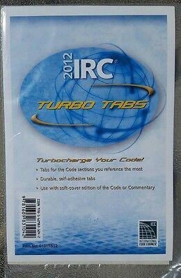 2012 International Residential Code Turbo Tabs for soft-cover edition of code