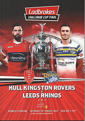 2015 Hull K.R. v Leeds Rhinos  (Challenge Cup Final)