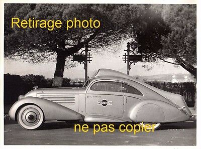 Retirage Photo : voiture automobile PUBLICITAIRE MARTINI ROSSI N°2 bouteille AR