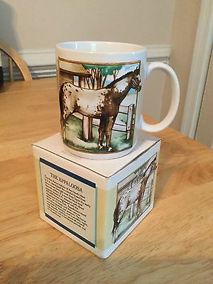 The Noble Horse Appaloosa Horse Ceramic Mug