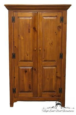ETHAN ALLEN Country Craftsman 45″ Armoire / Wardrobe 19-5315