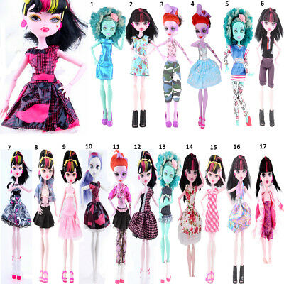 MagiDeal Mixed Style Fashion Clothes Party Outfits for Monster High Dolls