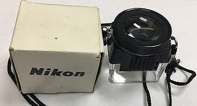 Nikon 8x Loupe For 35mm Negatives in Original Box WITH NECKLACE