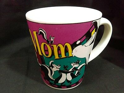 Pepe Le Pew Mom Mothers Day Tapered Mug 1999 Warner Bros