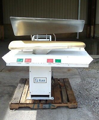 Ajax hot head drycleaning press model 554