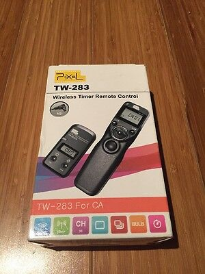 Pixel TW-283 Wireless Timer Remote Control Shutter Release For Canon