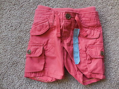 BOYS BABY GAP SHORT PANTS - SIZE 0-3mths - 100% COTTON - BRAND NEW WITH TAGS
