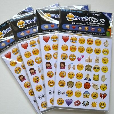 Pack of 19 Emoji Sticker Emoji Decal Popular For Phone Kids Home Decor Table