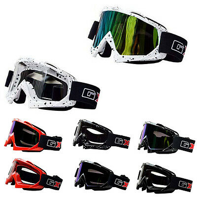 Motocross Racing ATV Dirt Bike Motorcycle Goggles Eyewear Lens Ski Scooter Sport