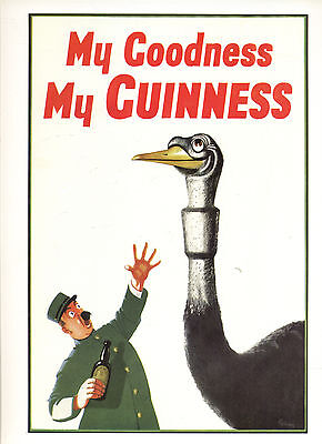 My Coodness -- My Guinness -- Poster--Plakat - Farbe-
