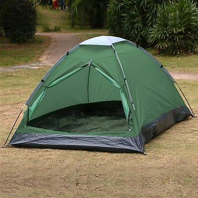 2 Person Camping Tent Outdoor Portable Family Waterproof Backpacking Hiking New