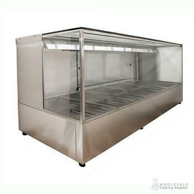 Hot Food Display Square Front 5 Bay Benchtop Woodson W.HFSQ25 NO PANS INCLUDED
