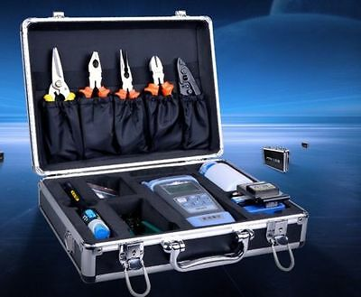 Fiber Optic FTTH Tool Kit with FC-6S Optic Termination Fusion Splicers 10pcs/set
