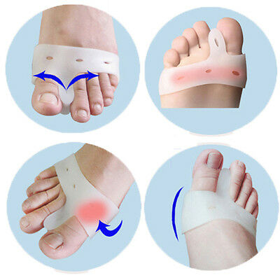 Soft Silicone Bunion Relief Foot Care Toe Hallux Valgus Separators Straighteners