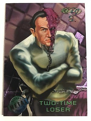 1995 DC Comics Batman Forever Metal Trading Card #56 Two Time Loser