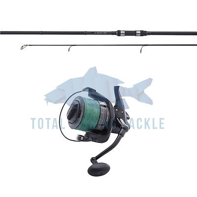 Shimano NEW Tribal TX-Spod Rod 13ft + Wychwood Dispatch Reel & Braid