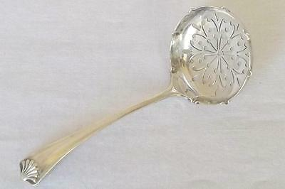 A Superb Antique Solid Sterling Silver Victorian Sugar Sifter Ladle Dates 1896.