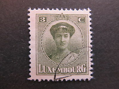 A4P26 Letzebuerg Luxembourg 1921-26 3c used #44