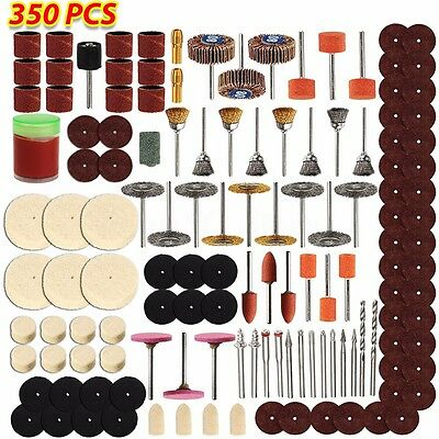 350pcs Universal Set Rotary Tool Accessory For Grinding Sanding Polishing Kit