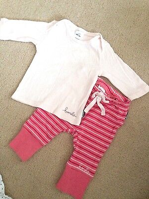 Baby Bonds Girl Top and Pants Size 000