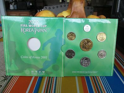 2002 FIFA World Cup Korea Japan Coin Set - Coins of Korea 2001