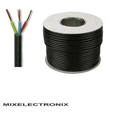 3 OR 4 Core Round Flex 0.75 1 1.5 2.5 mm Flexible Wiring PCV Extension Cable