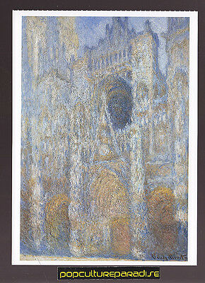 CLAUDE MONET Rouen Cathedral, The Facade in Sunlight ARTWORK PAINTING POSTCARD