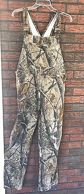 Realtree Camouflage Boys Girls Bibs Youth Hunting Overalls Youth Size 2XL 18