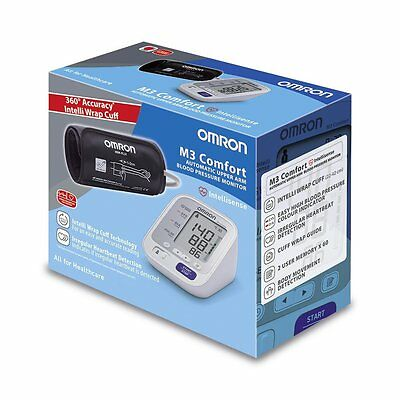 Omron M3 Comfort Digital Upper Arm Automatic Blood Pressure Monitor HEM-7134-E